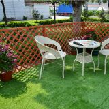 30x30cm interlocking antibacterial artificial plastic grass floor tile with permeable backing for garden landscaping