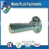 Made in Taiwan Stainles Steel Flush Head Self Clinching Stud or Carbon Steel Zinc Plated
