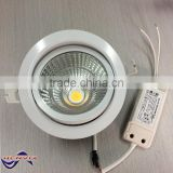 3 years warranty high lumen 30w cob led downlight