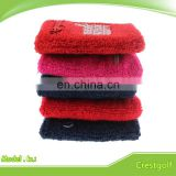 Promotional Sports Cotton Wristband with Zipper Pocket