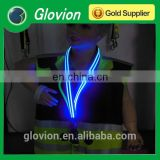 New Design lanyards for men colorful lanyards LED flashing lanyards