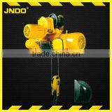 single speed mini wire rope electric hoist 1ton