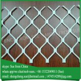 Window used oxidized white color aluminum amplimesh grille