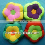 Flower shape foam bead cushion for decorative