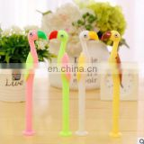 Creative cute ostrich gel pen material kawaii Plastic stationery school office writing supplies child's gift
