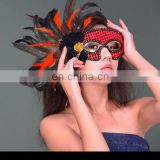 Fashion Women Sexy mask Hallowmas Venetian eye mask flower feather Easter mask