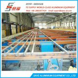 Aluminium Profile Two-Level Extrusion Table