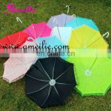 A0202 Ten assorted colors small decorations umbrellas