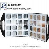 exquisite design stone display case