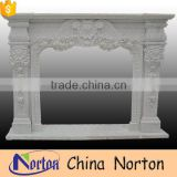 high quality natural stone fireplace surround price NTMF-F510X