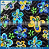 Flower design synthetic leather for making bags