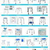 Aluminum Folding shower chair bath bench bath stool indoor