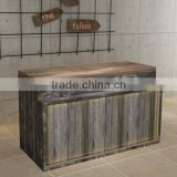 Classical style reception desk shop counter design showing counter(BG11-M099)
