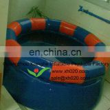 Round inflatable swimming pool for kids