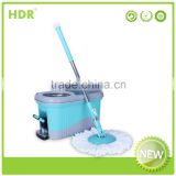 HDR-M016B-B bucket mop 360 degree Spin Magic electric floor mop,Hand Press With Wringer Mop Bucket