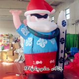 Customized 3m Height Advertising Inflatable Santa Claus for Christmas Decoration