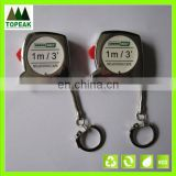 Mini steel tape measure with customized sticker measuring tape