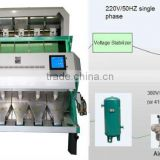 High Resolution and High Capacity Red Sorghum color sorter machines