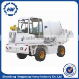 1.2 cbm 4x4 mini self loading mobile diesel concrete mixer truck for sale
