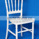 many colors available white resin napoleon chair for party rental