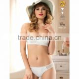 push up sexy bra and panty set high quality embroidery Turkish producer