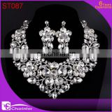 african crystal wedding jewelry sets ST087