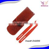 Metal pincers metal eyebrows tweezers set in pouch stainless steel tweezers