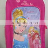 high quality big capacity school bag with wheel made in China for kids