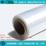 Wholesale transparent LLDPE tray packaging stretch film