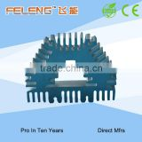 Aluminium extrusion heat sink/cooling radiator fin