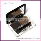 Newest, Makeup Natural Eyebrow Powder, 2 Colors Palette