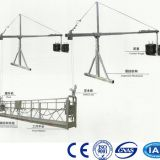 China XINGHE steel ZLP800 7.5m safety lock suspended platform, construction gondola