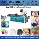 Plastic Cup Lid Thermoforming Machine, Paper Cup Lid Making Machine, Coffee Cup Making Machine