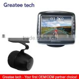 car rearview camera system with 3.5 inch lcd monitor