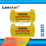 Warning signs for perimeter electric fence,both sides printed,PP materials