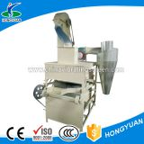Grain soybean cleaning machine with gravity separation method