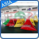 Bouys For Mark Promote Inflatable Triangle Buoys for Advertising in Water Games
