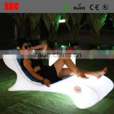 2017 new products nightclub lounge furniture IP65 waterproof pool marine furniture led swimming pool chair for event&party