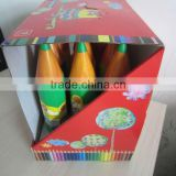 "7""12pcs color pencils in Rocket"