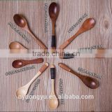 high quality wood string spoon tea spoon /mf fancy honey spoon / facny ice cream d spoon coffee spoon dinnerware tableware