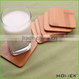 Wood coaster/ bamboo coaster set Homex-BSCI