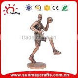 basketball sports trophy figurine