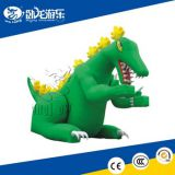 Green Inflatbale Toys Wolong Playing equipment on Sale