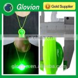 Best sell LED flashing silicone neck lanyard with ball