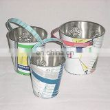 Recycled Tin Buckets Set of 3