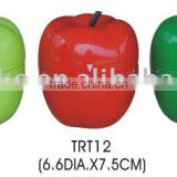 Plastic apple shape countdown timer/kitchen mechanical timer