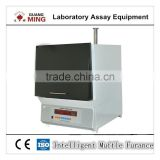 Large capacity Intelligent laboratory muffle furnace for component analysis