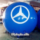 Blue Advertising Balloons High Quality Inflatable Helium Balls for Outdoor