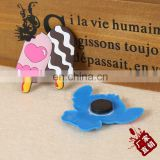 Factory product soft pvc rubber popsicle design fridge magnet for leaving message