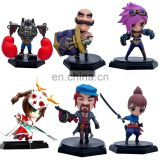 Hot custom pvc League of Legends action superhero figure LOL mini figures
